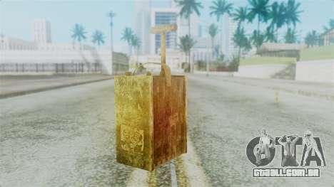 Red Dead Redemption Detonator para GTA San Andreas segunda tela