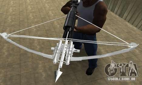 Crossbow para GTA San Andreas terceira tela