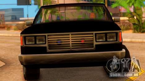 FBI 4-door Yosemite para GTA San Andreas vista direita
