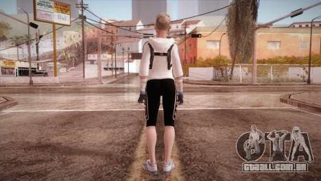 Endurance Cassie Cage from Mortal Kombat X para GTA San Andreas terceira tela