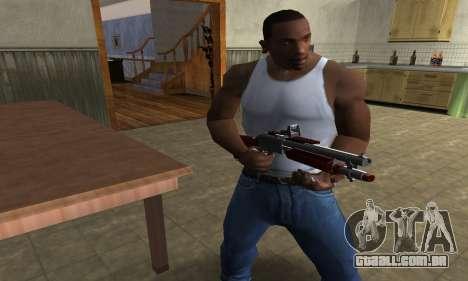 Death Shotgun para GTA San Andreas segunda tela