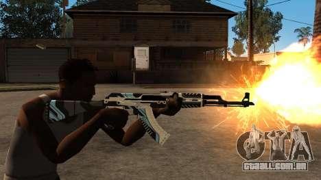 AK-47 Vulcan para GTA San Andreas por diante tela