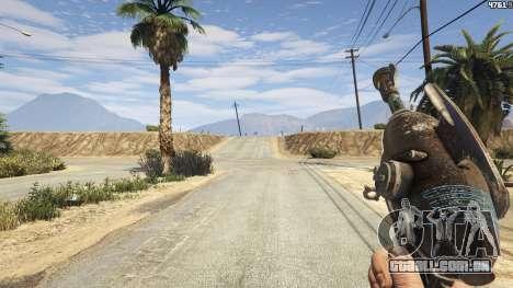 GTA 5 Fallout 3: Alien Blaster terceiro screenshot