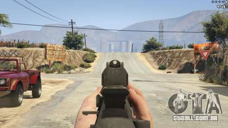 GTA 5 BF4 AR160 sétima screenshot