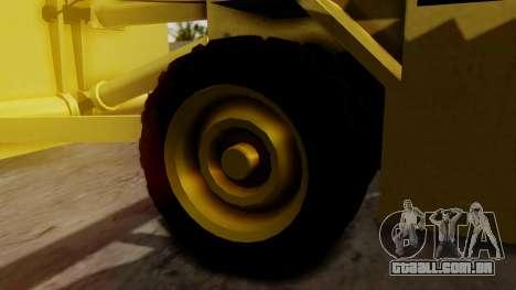 HVY Cutter para GTA San Andreas traseira esquerda vista