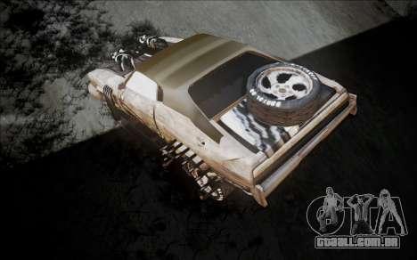Mad Max 2 Ford Landau para GTA San Andreas traseira esquerda vista