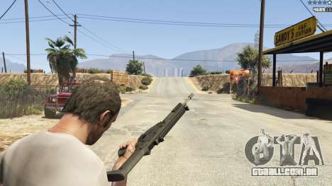 GTA 5 BF4 AR160 nono screenshot