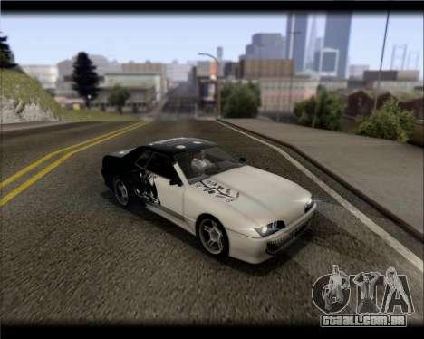 Elegy Hard Stunt para GTA San Andreas interior