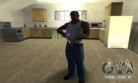 Purple World Shotgun para GTA San Andreas terceira tela