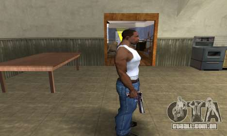 Purple Deagle para GTA San Andreas terceira tela
