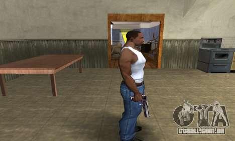 Purple Deagle para GTA San Andreas terceira tela