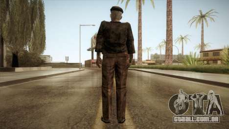 RE4 Don Esteban para GTA San Andreas terceira tela