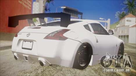 Nissan 370Z SPPC para GTA San Andreas esquerda vista
