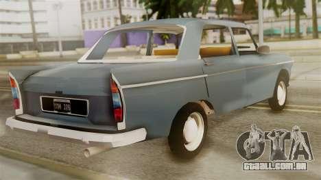 Peugeot 404 para GTA San Andreas esquerda vista