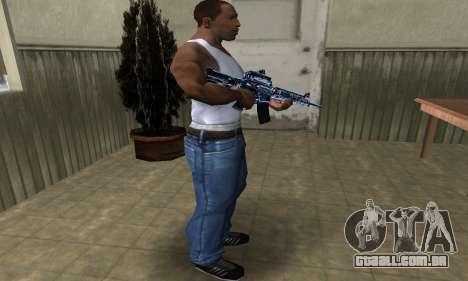 Cold M4 para GTA San Andreas terceira tela