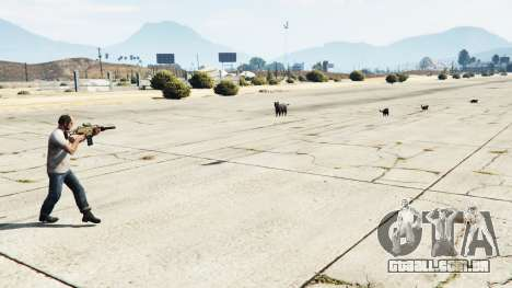 GTA 5 Animal Cannon v1.1 segundo screenshot