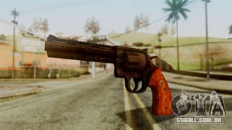 Colt Revolver from Silent Hill Downpour v2 para GTA San Andreas