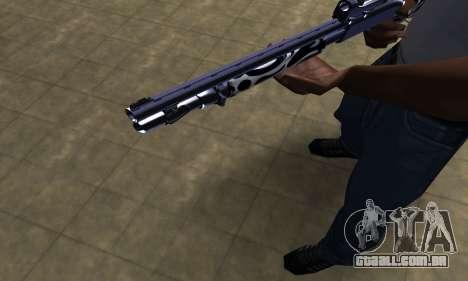 Oval Shotgun para GTA San Andreas segunda tela
