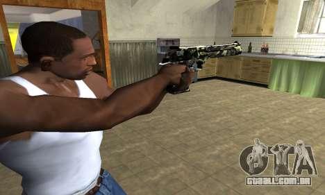 Deagle Camo para GTA San Andreas segunda tela