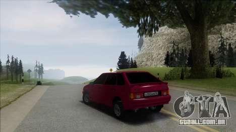 2114 Stoke para GTA San Andreas esquerda vista