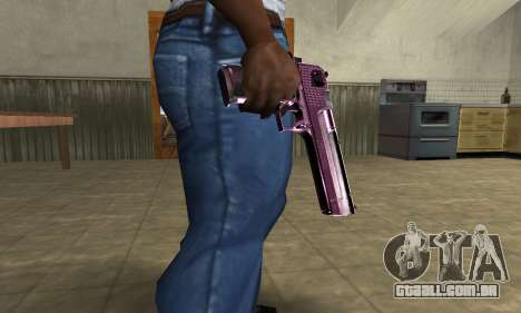 Purple Deagle para GTA San Andreas