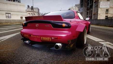 Mazda RX-7 RocketBunny [EPM] para GTA 4 traseira esquerda vista