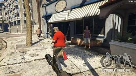 GTA 5 Weapons Are Scary Mod [.NET] 1.3 terceiro screenshot