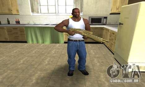 Zloty Tajfun Combat Shotgun para GTA San Andreas terceira tela