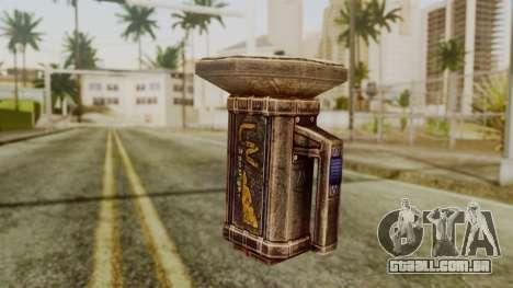 Forensic Flashligh from Silent Hill Downpour para GTA San Andreas segunda tela