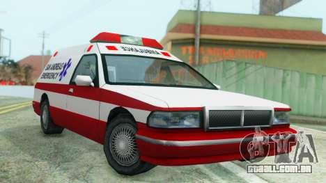 Premier Ambulance para GTA San Andreas