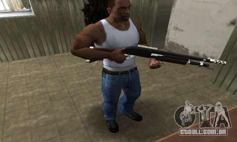 Biggie Shotgun para GTA San Andreas terceira tela