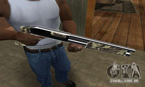 Militarry Shotgun para GTA San Andreas