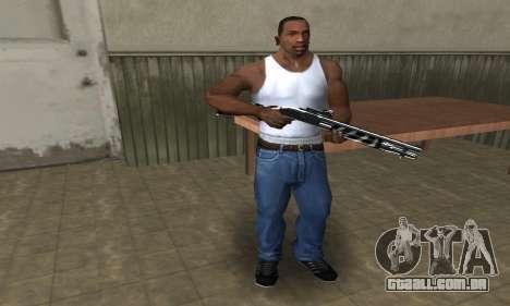 Two Lines Shotgun para GTA San Andreas segunda tela