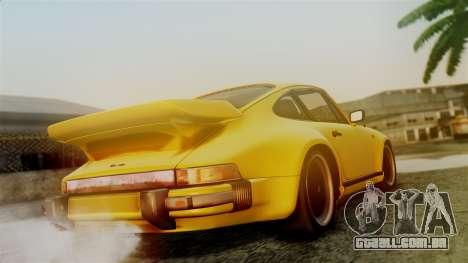 Porsche 911 Turbo (930) 1985 Kit C PJ para GTA San Andreas esquerda vista