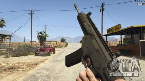 GTA 5 BF4 AR160 oitmo screenshot