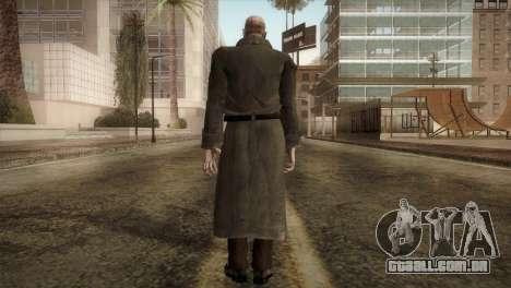 RE4 Mendes para GTA San Andreas terceira tela