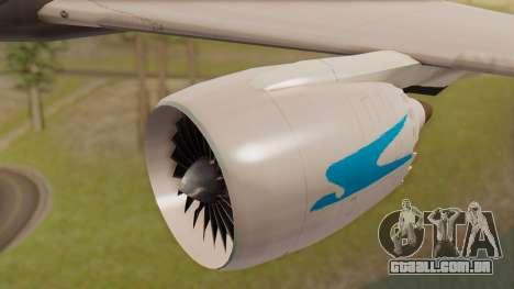 Boening 737 Argentina Airlines para GTA San Andreas vista direita