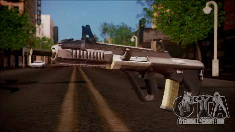 AUG A3 from Battlefield Hardline para GTA San Andreas