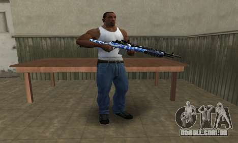 JokerMan Rifle para GTA San Andreas terceira tela