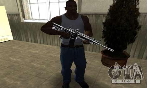 Original M4 para GTA San Andreas terceira tela