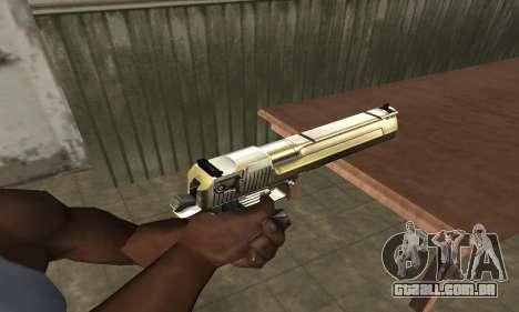 Full of Gold Deagle para GTA San Andreas