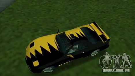ZR-350 Double Lightning para GTA San Andreas vista direita