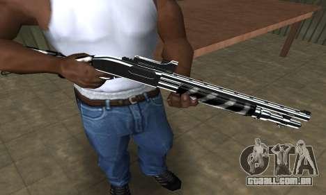 Two Lines Shotgun para GTA San Andreas