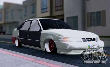 Daewoo Nexia 2006 para GTA San Andreas vista inferior