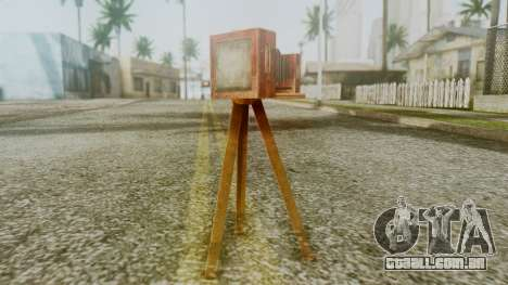 Red Dead Redemption Camera para GTA San Andreas segunda tela