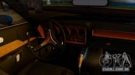 Dodge Charger Super Bee 426 Hemi (WS23) 1971 PJ para GTA San Andreas vista direita
