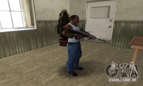 Brown AUG para GTA San Andreas terceira tela