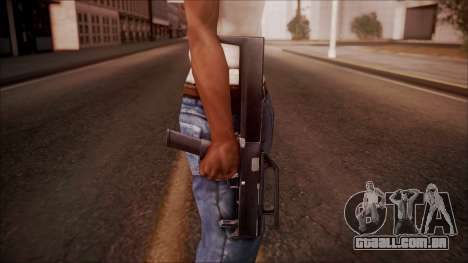 FMG-9 from Battlefield Hardline para GTA San Andreas terceira tela