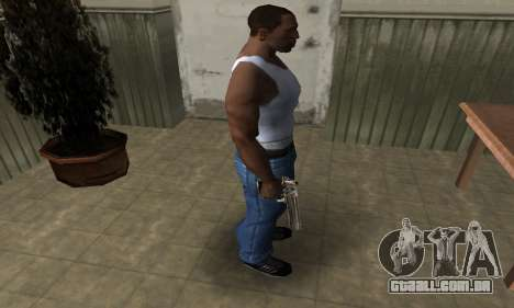 Full of Gold Deagle para GTA San Andreas terceira tela