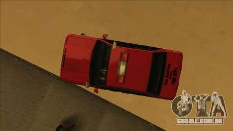 FDSA Premier Cruiser para vista lateral GTA San Andreas
